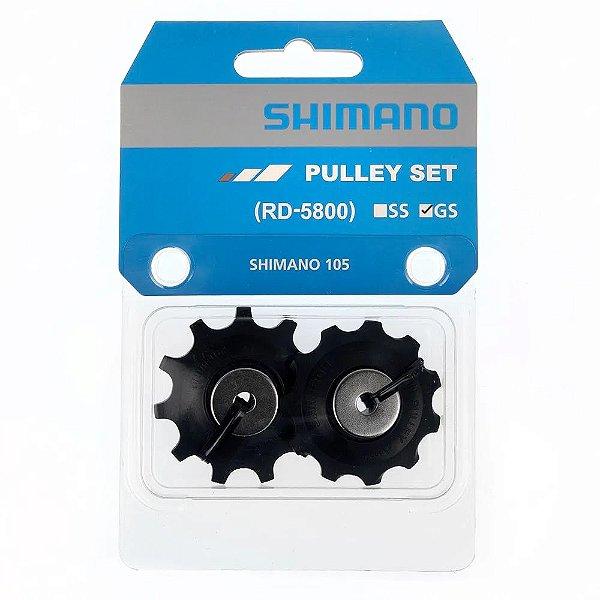 PAR DE ROLDANAS DE CÂMBIO SHIMANO 105 RD-5800-GS