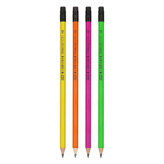 Lápis HB Neon - BRW