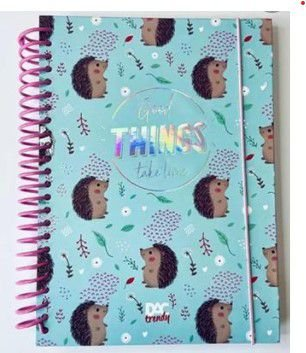 Caderno Ouriço Trendy Colegial - DAC