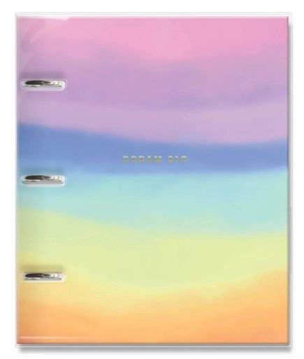 Caderno Argolado Tie Dye - Fina Ideia