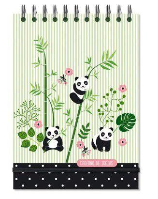 Caderno de Ideias Panda - Fina Ideia