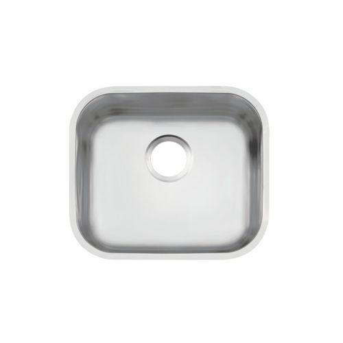 Cuba de embutir Tramontina Lavínia 40 BL em aço inox acetinado 40x34 cm