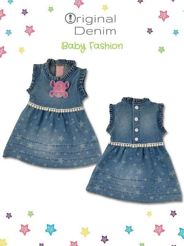 Vestido Bebê Com Estampa Personalizada