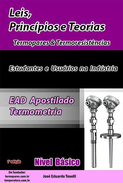 Curso Básico EAD Nível Básico - Leis, Princípios e Teorias -Termopar & Pt100
