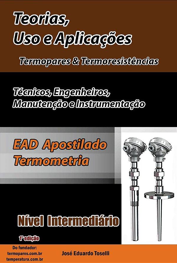 Curso EAD Nível Intermediário - Teorias, Uso e Aplicações – Termopar & Pt-100