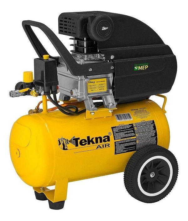 Compressor De Ar 24 Litros Tekna 2hp CP8525 Ct2