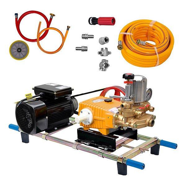 Lavadora Completa 45L/min Zmax Motor 2Cv 10Mts Mangueira Lc4