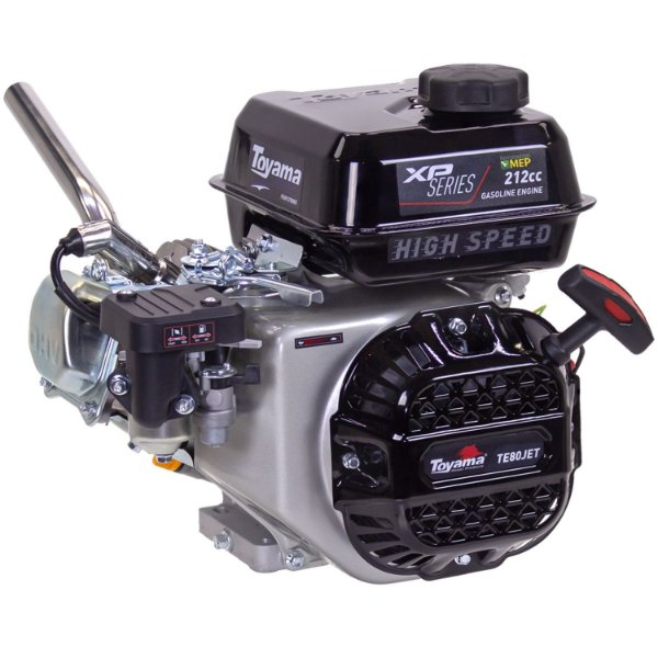 Motor De Popa A Gasolina 8hp Toyama Te80jet Hsxp 4600rpm T8m