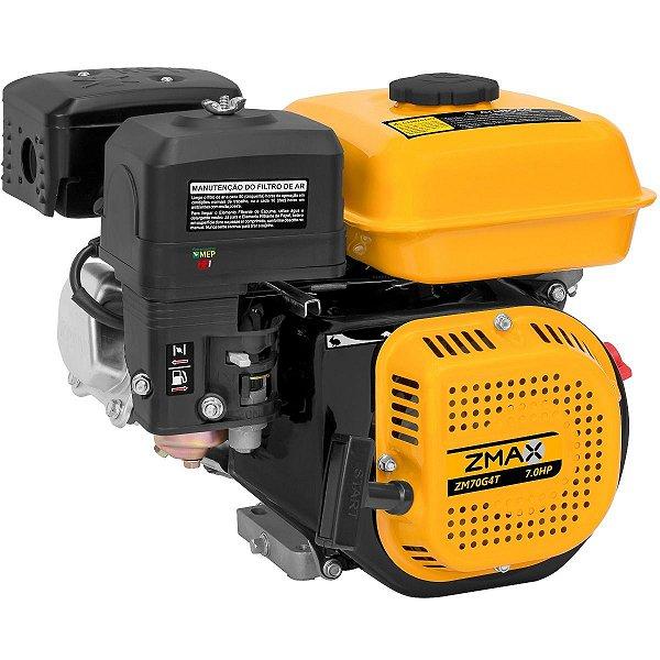 Motor Estacionário 7hp Gasolina Partida Manual Zmax 210cc
