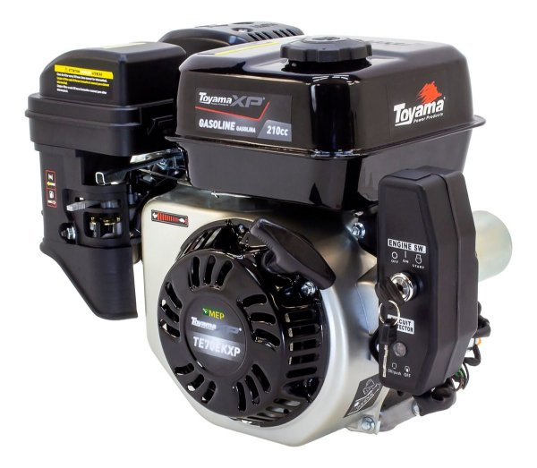 Motor A Gasolina 7Hp Partida Elétrica Toyama  TE70EKXP T7p