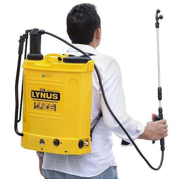 Pulverizador Costal Manual Eletrico A Bateria Lynus PL18 Ly1