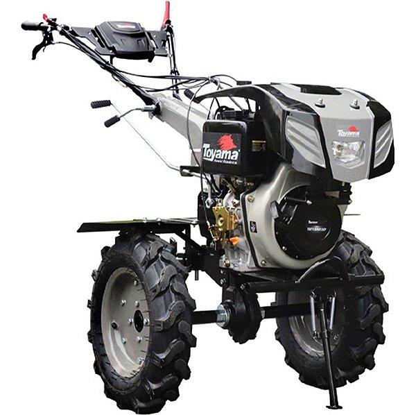 Motocultivador A Diesel Partida Elétrica Toyama TDT135RE12-XP Mc8