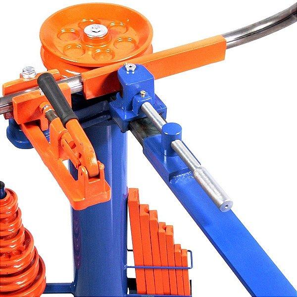 """Dobrador Curvador De Tubos Manual Matrizes De 3/8 A 1 1/4"""" Dt1"""
