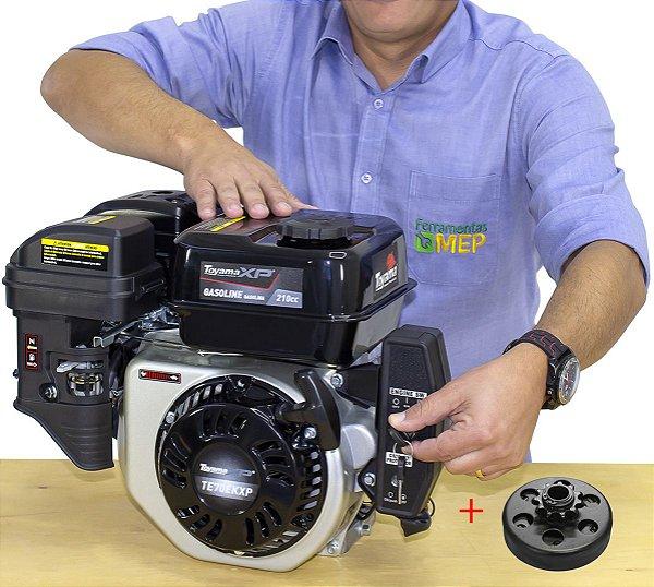 Motor Gasolina P. Elétrica 7hp Toyama Embr. Centrifuga Em6