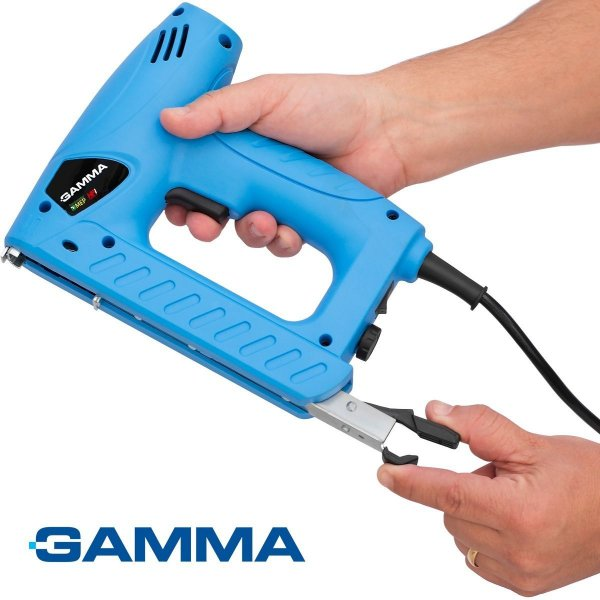 Grampeador Pinador Elétrico P/ Madeira 220v Gamma G1960 Ge2