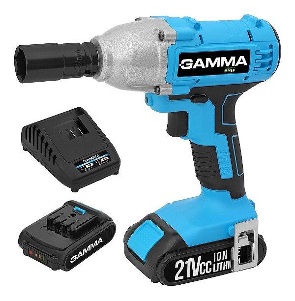 Chave De Impacto Gamma G12201/br 28kg A Bateria 21v Ci1