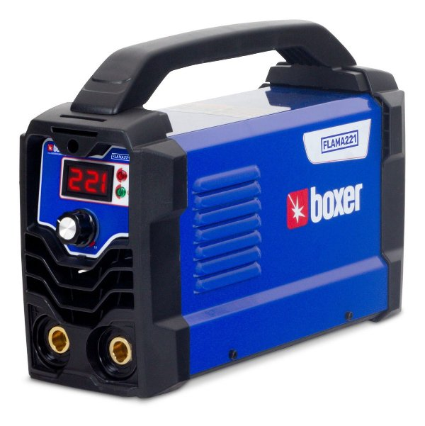 Máquina Inversora De Solda 220 Amperes Boxer Flama 221 Te1