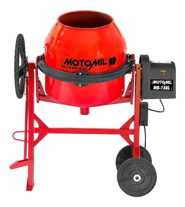 Betoneira 150 Litros 1/2Cv Monofásica Motomil Mb 150l