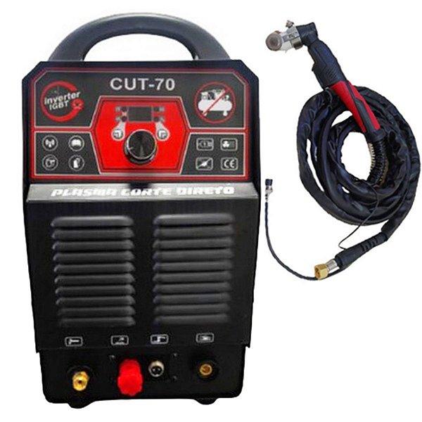 Inversor Corte Plasma Compressor Embutido Saints Cut70 Sn0