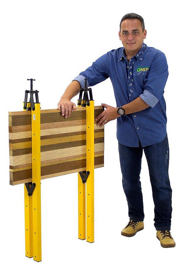 Grampo para Colar Madeira Duplo Aperto Mec Tools Double Da1