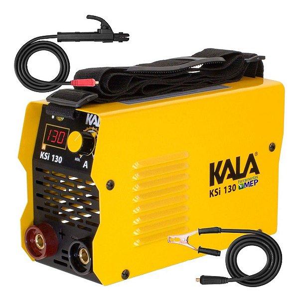 Inversor de Solda Eletrodo Tig Kala Ksi130 130amp 110/220v Bivolt Sk1