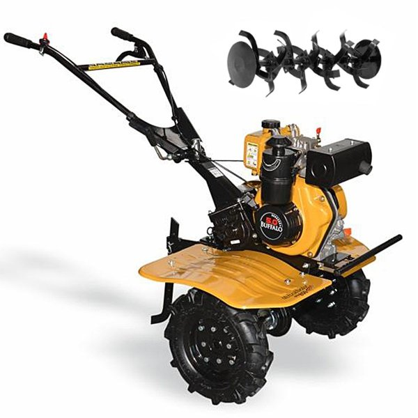 Motocultivador a Diesel Buffalo 5hp 219cc 4t Bfd850