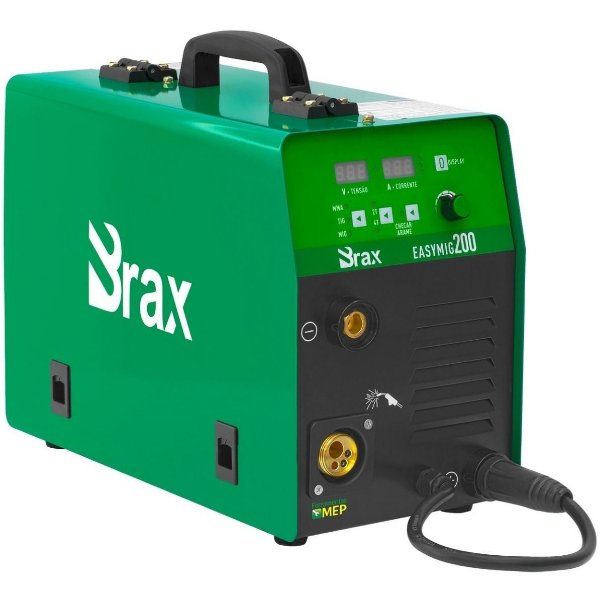 Máquina de Solda Mig Tig Eletrodo Brax Easy 200amp 220v Mb2