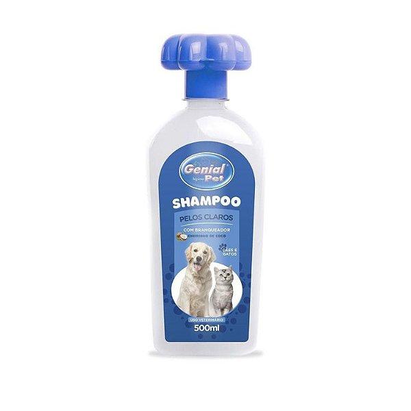 Shampoo Genial Pelos Claros 500 Ml.