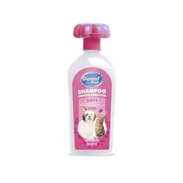 Shampoo Genial 2 Em 1- 500 Ml.