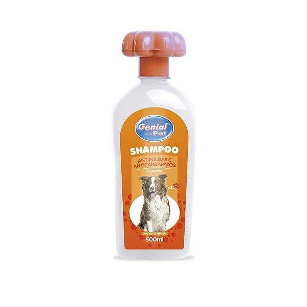 Shampoo Genial Antipulgas 500 Ml.