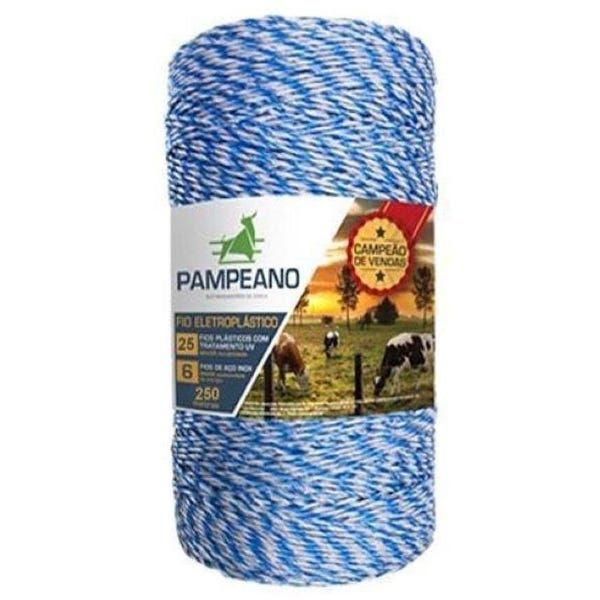 Fio Eletroplastico 250m (15/6) Pampeano Azul