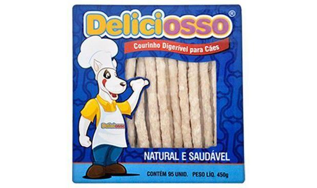 Osso Deliciosso Palito Fino 450g - 6001 Unid