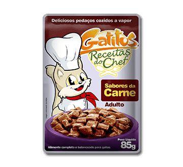 Gatitus Sabores Da Carne 85g - 7052 Unid