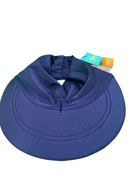 Viseira turbante azul