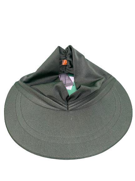 Viseira turbante verde exercito