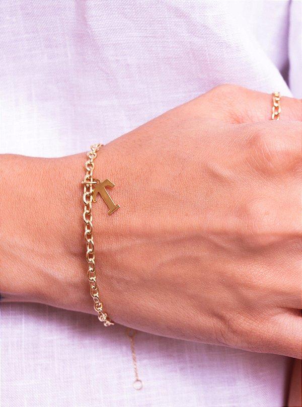 Bracelete Elos LOVE
