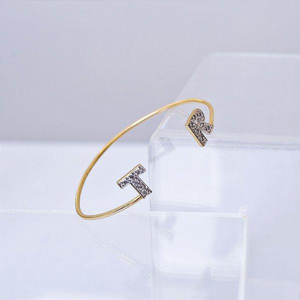 Bracelete iniciais