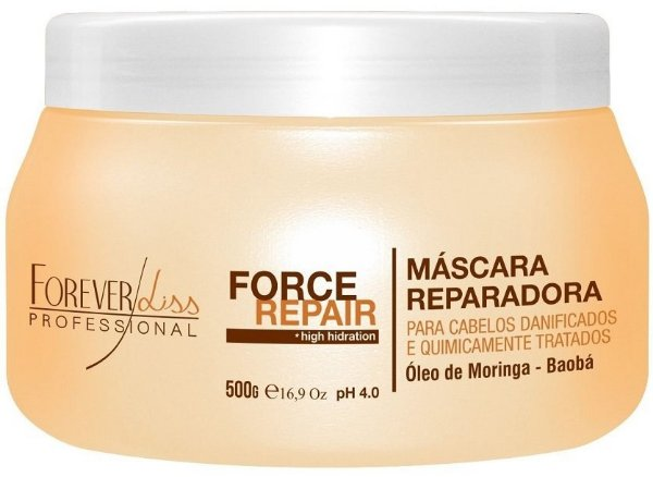 Máscara Reparadora Force Repair Forever Liss 500g