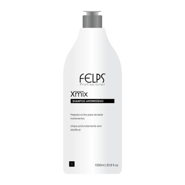 Felps Profissional Xmix Shampoo Antirresíduo 1000ml