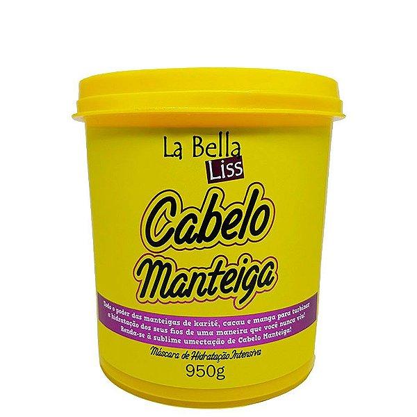 Cabelo Manteiga La Bella Liss Máscara De Hidratação 950g