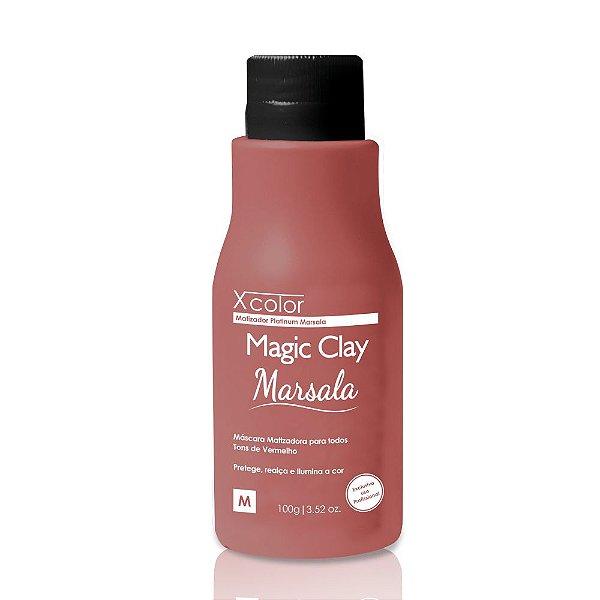 Felps Profissional Xcolor Magic Clay Marsala 100g