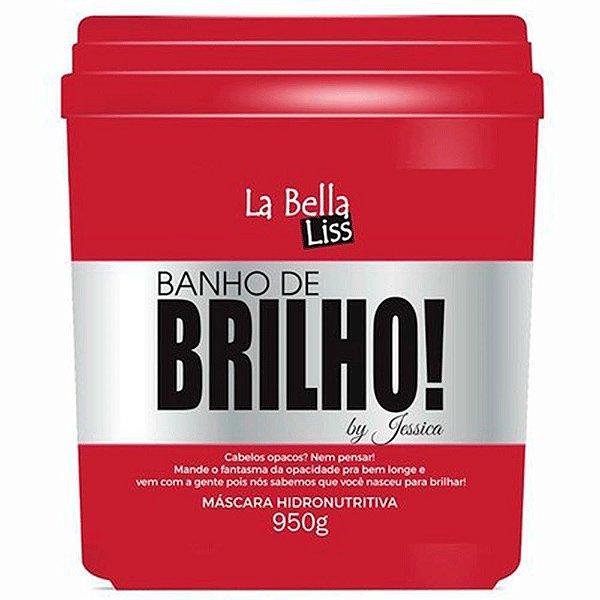 Máscara Hidronutritiva Banho de Brilho La Bella Liss 950gr