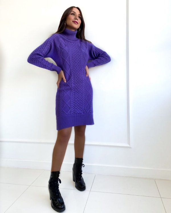Vestido Tricot Vivian