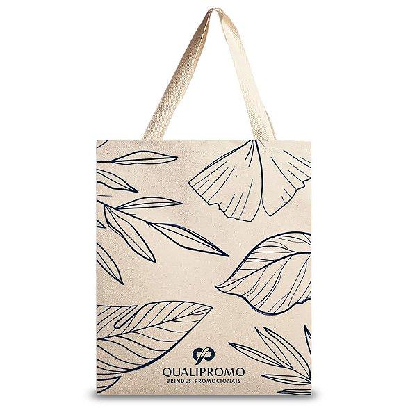 Sacola ecológica ecobag em algodão 240 g. personalizada - Cód.: 02WQ