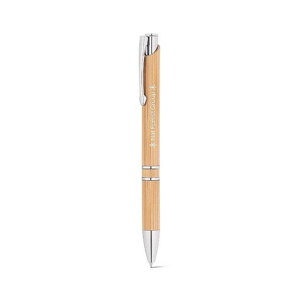 Caneta ecológica em bambu personalizada - Cód.: 81011SQ