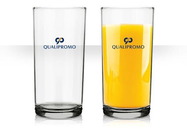 Copo long drink Cylinder 300 ml. de vidro  personalizado - Cód.: 0878APQ