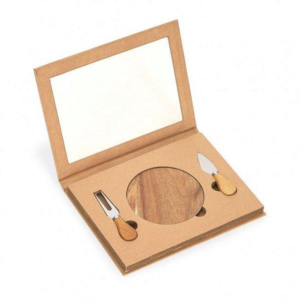 Kit queijo 3 peças personalizado - Cód.: 93830SQ