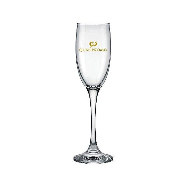 Taças Champagne Barone 190 ml. de vidro personalizada - Cód.: 1004587EQ