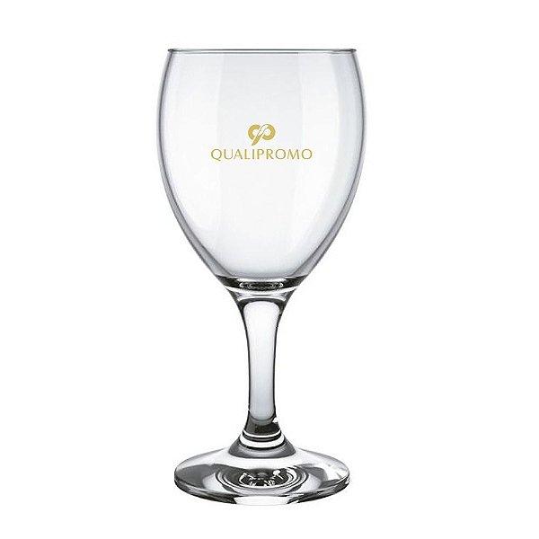Taça vinho Windsor 250 ml de vidro personalizada - Cód.: 0712812LQ