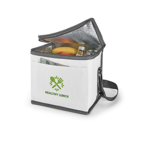 Bolsa térmica 9 litros em nylon personalizada - Cód.: 98418SQ